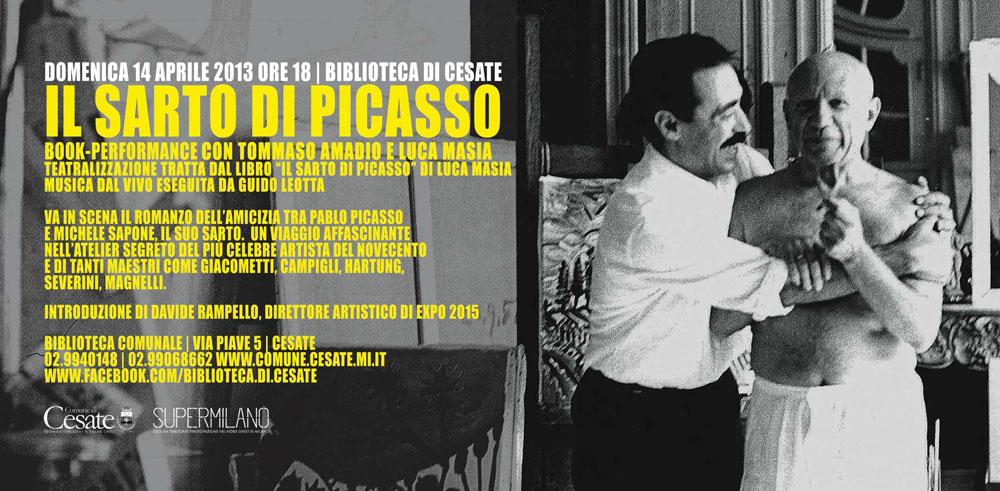 Luca Masia_ Il sarto di Picasso a Cesate